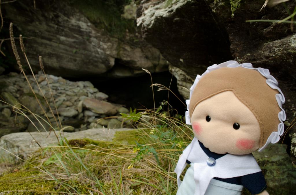 Il Toumpi dl'Oursa visto da una roccia vicina
