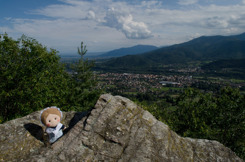 Luserna San Giovanni - view from the rock