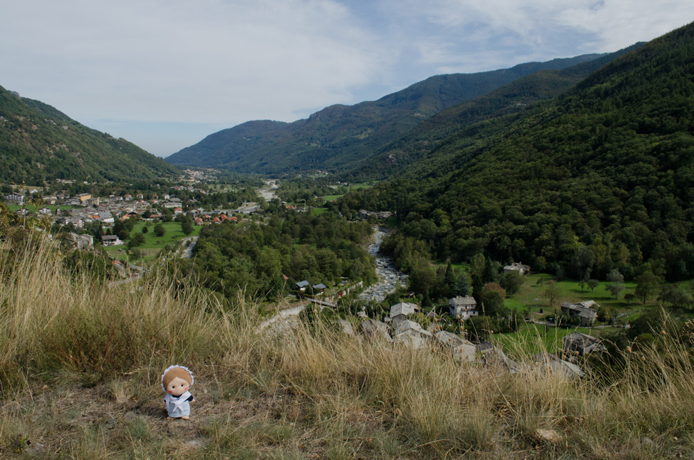 View of Bobbio Pellice