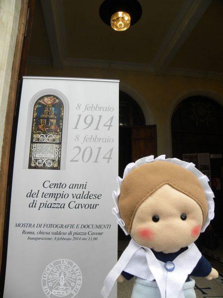 In visita al tempio di piazza Cavour in occasione del suo centenario