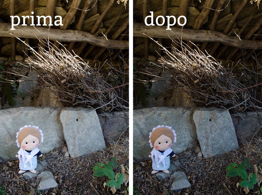 """Le foto, prima e dopo la """"cura"""""""