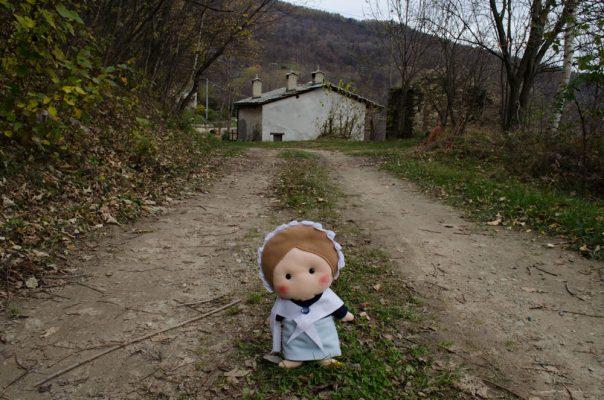 Valdesina giunge all'Arvura dal sentiero delle Rocciaglie