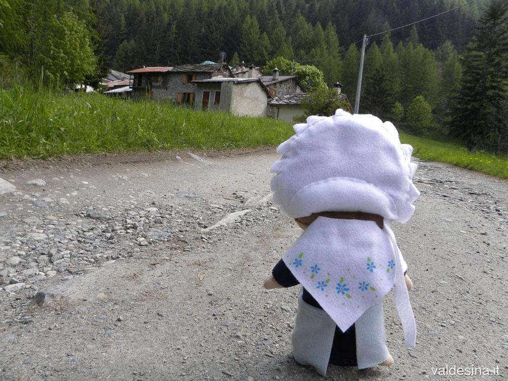 Dopo una piccola passeggiata Valdesina arriva alla Ribba