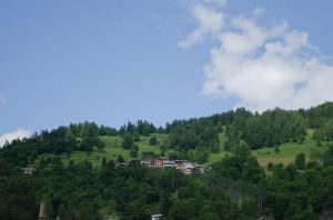 Indritti seen from Ghigo di Prali.
