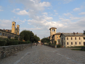 This is the Waldensian quarter in Torre Pellice!
