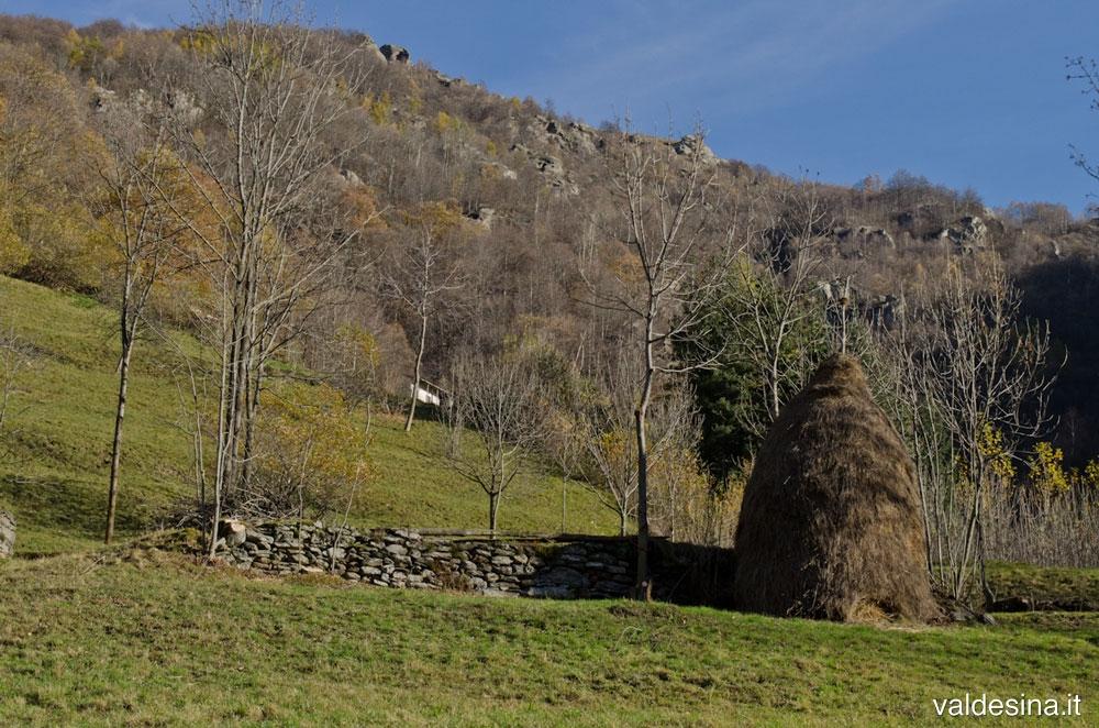 The landscape of Pradeltorno