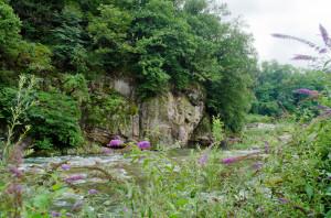 La Rocca Caburna si tuffa nel Pellice