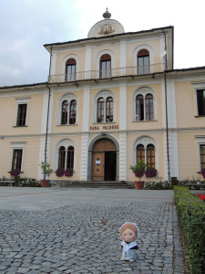 The Waldensian House. On the ground floor there is the Synod Hall where every year the Synod Assembly (which is the most important governing body of Waldensian Church) meets. Inside the House you can see a fresco painted by Paolo Paschetto, who also designed the emblem of the Italian Republic.