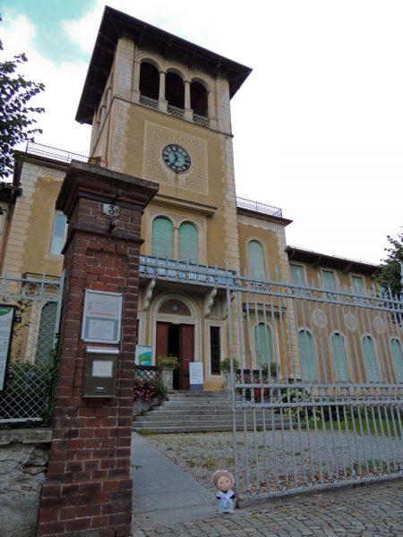 L'edificio che ospita attualmente il Museo valdese.