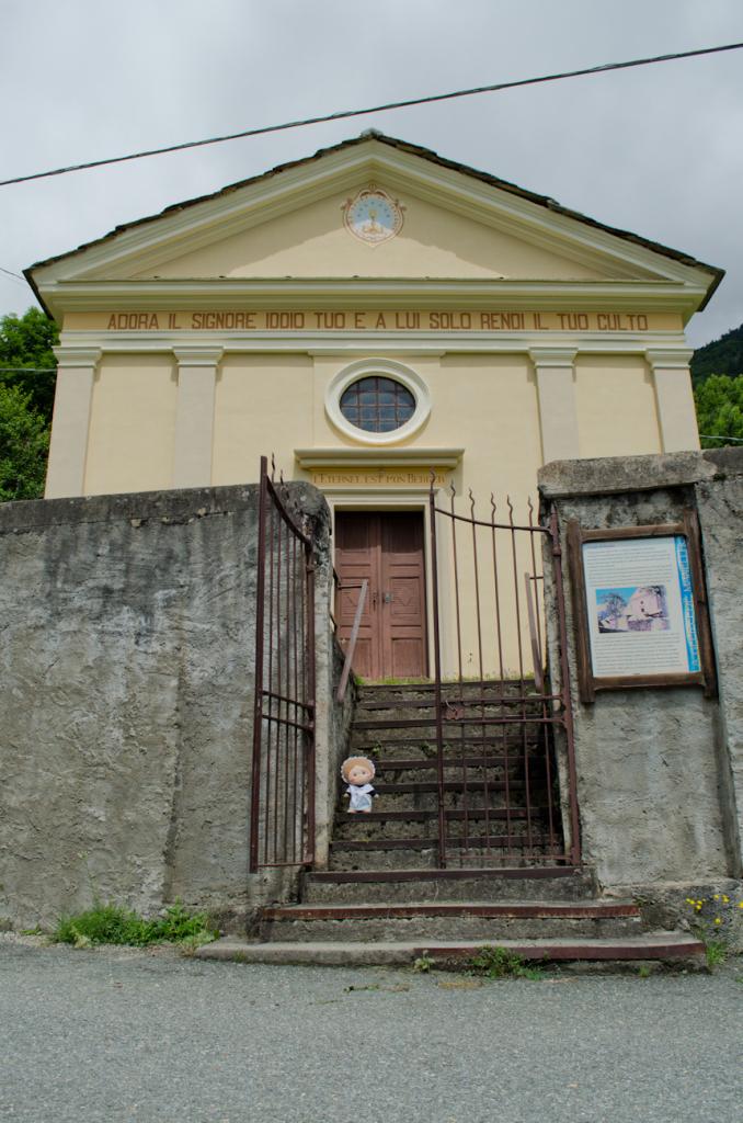 Eccomi di fronte al tempio! Venite con me?