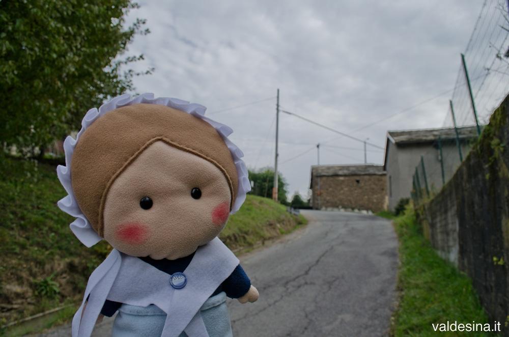L'abitante di una di queste case nasconde un segreto...