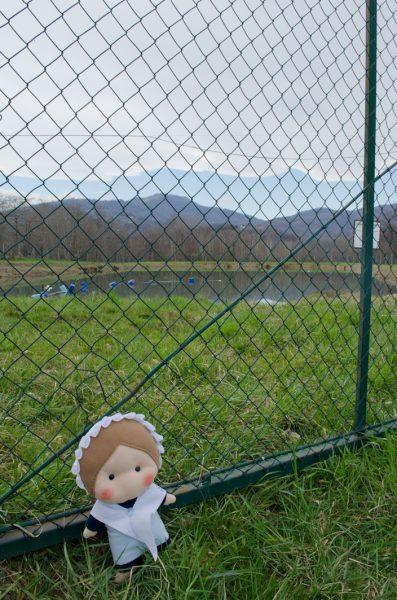 Eccomi ai laghi dei Badariotti: dietro di me, il lago Torretti