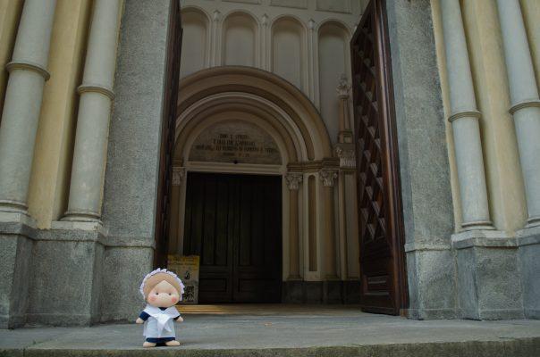 Eccomi arrivata al tempio valdese di corso Vittorio Emanuele II a Torino!