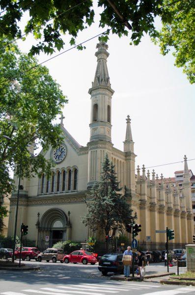 Il tempio valdese di corso Vittorio Emanuele II a Torino