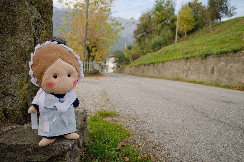 Questa strada collega lou Couént al capoluogo... Ricordate anche quella storia da brivido?