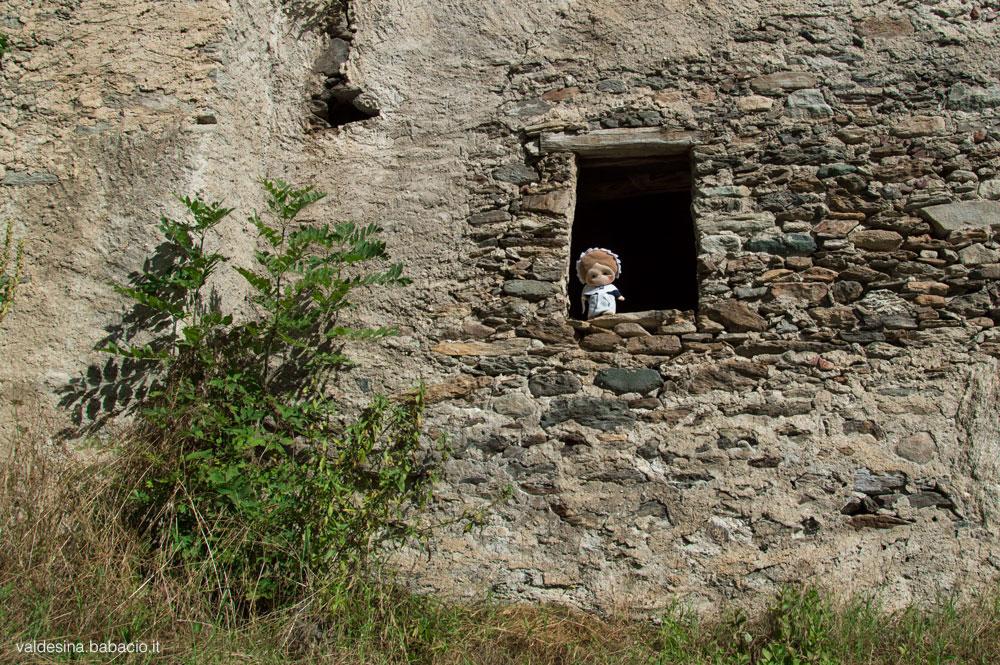 Chissà se era questa la finestra dove si affacciava la ragazza della leggenda