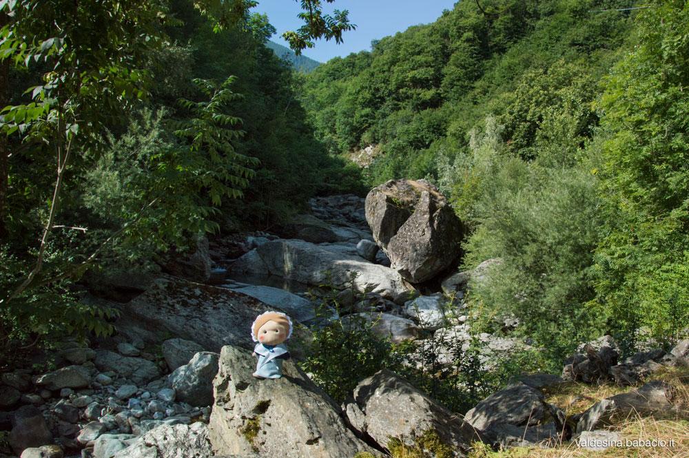 """La Val Guichard oggi è meglio conosciuta come la """"Comba dei Carbonieri"""""""