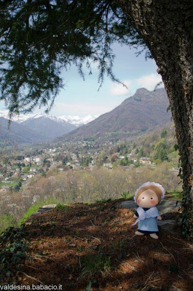 Anticamente in questo punto sorgeva una cappella di cui oggi non resta traccia... C'è solo una bella visuale sul monte Vandalino!